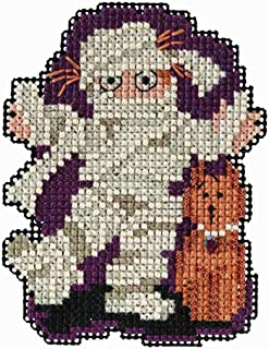 Mill Hill Mummy Beaded Counted Cross Stitch Halloween Ornament Kit 2018 Autumn Harvest MH181825