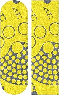 Baseball Polo California Bears Paw Skateboard Vinyl Non-Slip Sandpaper Sticker Decal Skateboarding Gift
