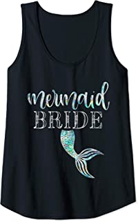 mermaid bride tank