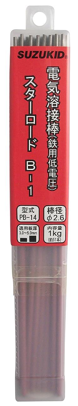 黄ばむ不振試みスズキッド(SUZUKID) B-1 2.6φ*300mm 1kg PB-14
