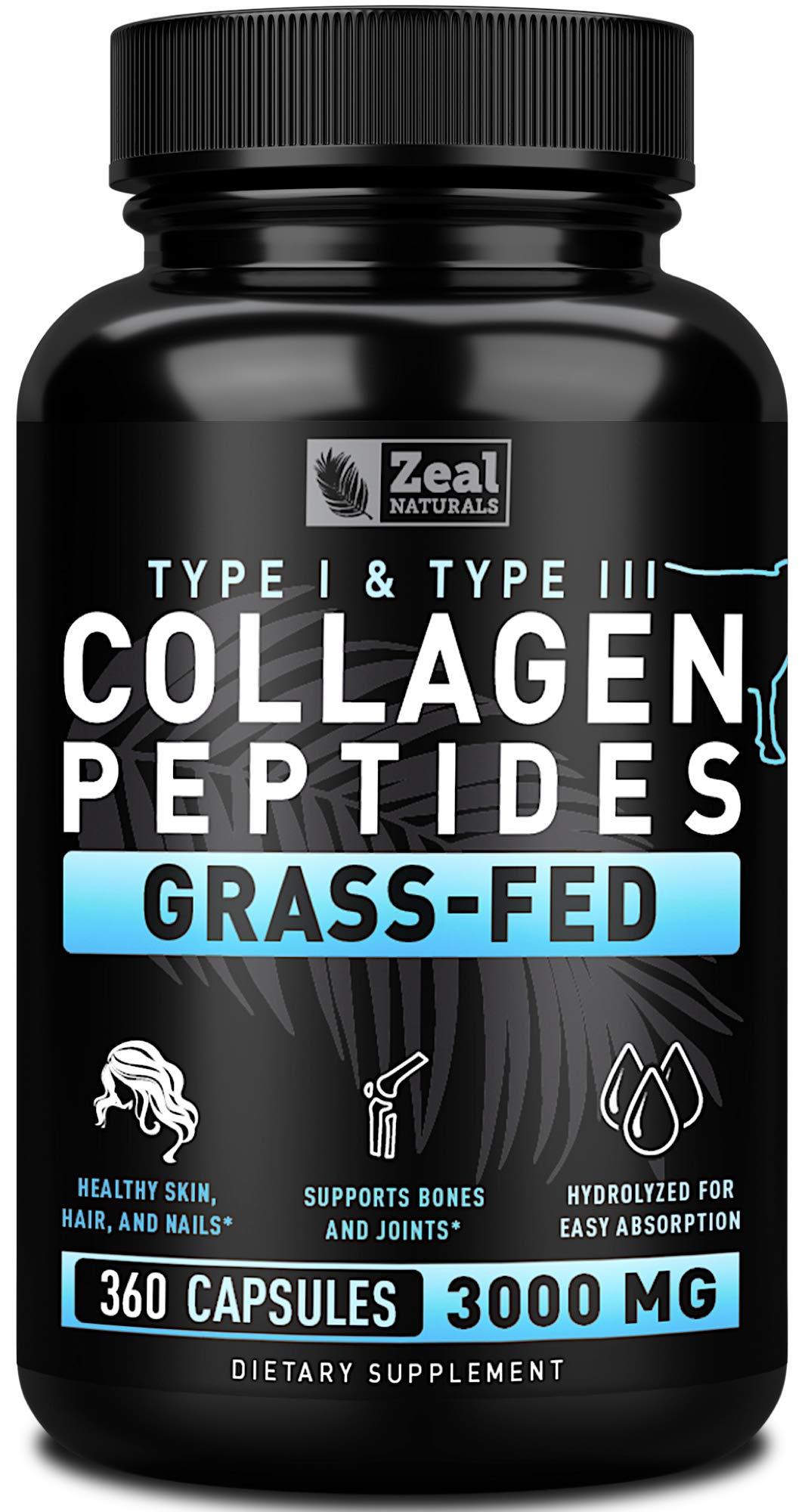 Collagen Peptides Capsules Protein Powder