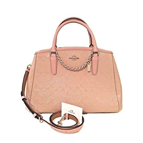 29187a8849 Coach Margot Patent Leather Carryall Crossbody Tote Purse -  F55451