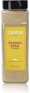 Castle Foods   Fennel Seed Ground 16 oz Premium Restaurant Quality NonGMO Kosher