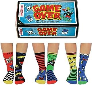 caja de 6 calcetines para niños, 12 – 6 EUR 30,5-39 US 13,5-7, Multi