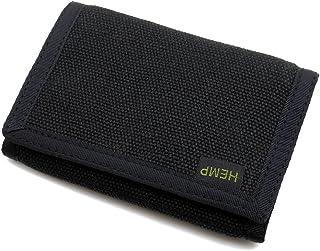 Hempmania Hemp Eight Compartment Tri-fold Wallet