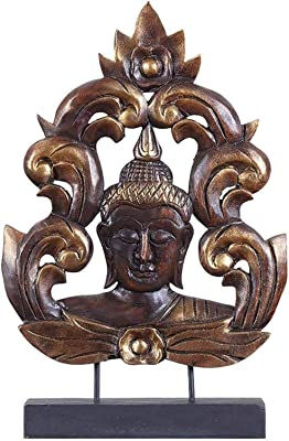 Latón Estatua la gött Kali Maa Idol pared Tatuajes Puja Diyas y ...