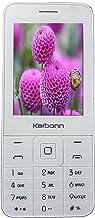 Karbonn Dual Sim K Phone 1 (White-Champagne)