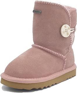K.Signature Toddler(9months-4years) Summer Short One Button Sheepskin Winter Boots