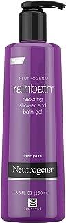 Neutrogena Rainbath Restoring Shower and Bath Gel Fresh Plum, 473 milliliters