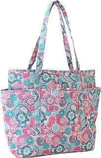 J World New York Emily Lemon or Berry Print Tote Bag