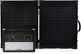 Goal Zero Yeti 1400 Lithium Portable Power Station WIFI Mobile App Enabled Kit with Boulder 100 Briefcase Solar Panel with MPPT