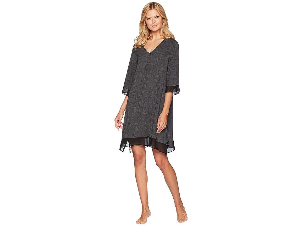 Donna Karan Sleepshirt (Charcoal Heather) Women