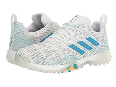 adidas Golf Codechaos Prime Blue (Footwear White/Sharp Blue/Blue Spirit) Men