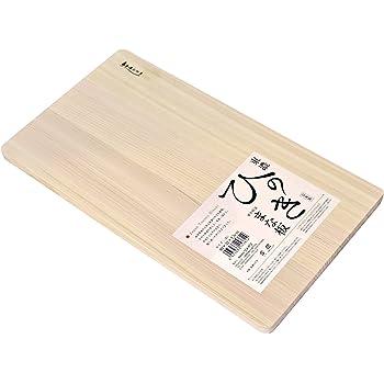 ウメザワ 木製まな板 東農ひのき 薄型軽量 40×22×厚さ1.5cm 日本製