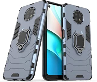 FTRONGRT Case for Xiaomi Redmi Note 9T 5G, Rugged and shockproof,with mobile phone holder, Cover for Xiaomi Redmi Note 9T ...