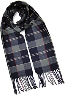™ Cashmere Feel Plaid and Check Tassel Ends Scarf