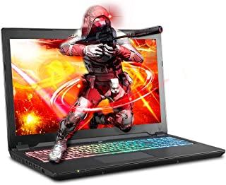 Sager NP8957 0.78 Inches Thin & Light Gaming Laptop, 15.6 Inches FHD 144Hz Display, Intel Core i7-9750H, NVIDIA RTX 2070 8GB DDR6, 32GB RAM, 500GB NVMe SSD + 1TB HDD, Windows 10 Home