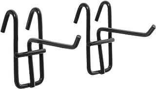 アイリスオーヤマ メッシュ パネル フック 50mm ブラック MPA-F5