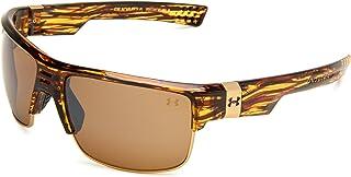 نظارات شمسية كوماندر بيضاوية، عدسة بنية/بنية، مقاس واحد