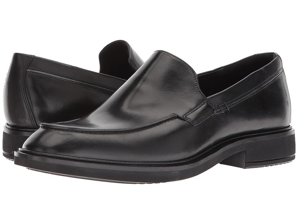ECCO Vitrus II Apron Slip-On (Black) Men