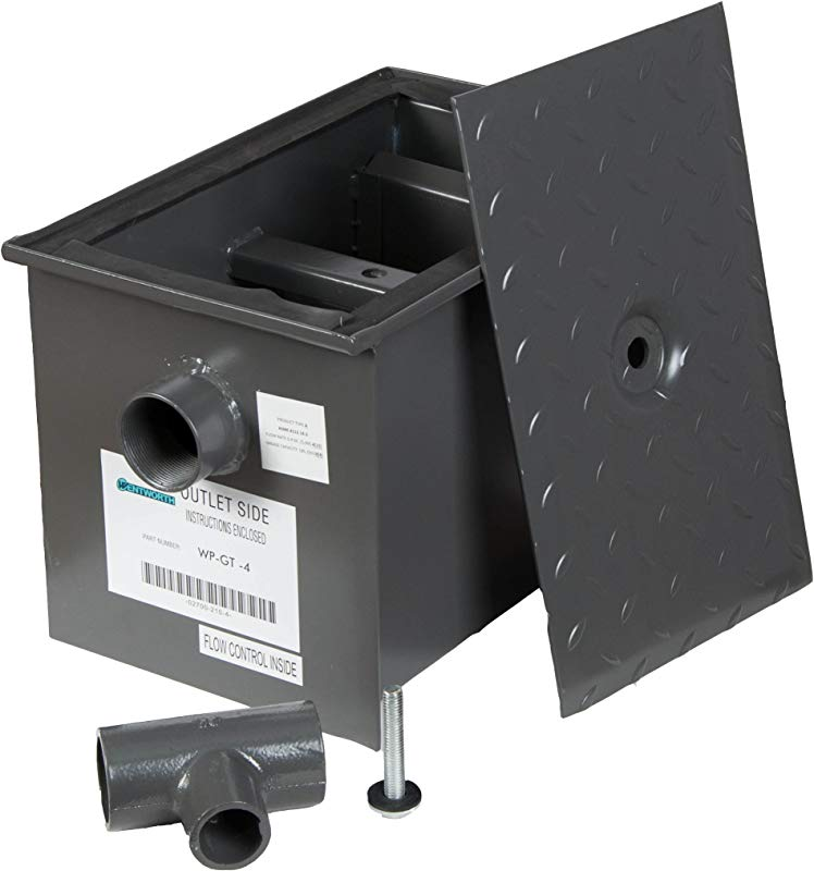 WentWorth 8 Pound Grease Trap Intercepto R 4 GPM Gallons Per Minute WP GT 4
