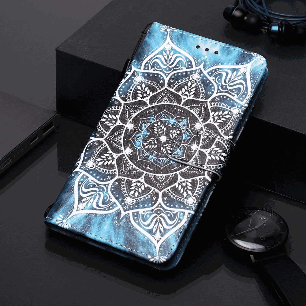 Flip Case for iPhone 11 Pro Compatible with iPhone 11 Pro Flower PU Leather Wallet Cover