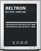 New BELTRON 2100 mAh Replacement Battery for Samsung Galaxy S3 SIII (I747 I535 L710 T999)..