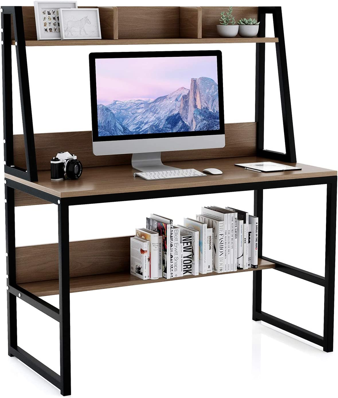 Computer Desk Our shop most popular with Hutch and Bookshelf 47.2 Writing Study - Quantity limited inch