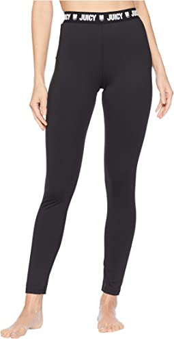 Track Inked Heart Compression Leggings