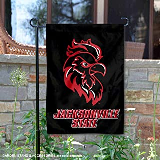 College Flags and Banners Co. Jacksonville State Gamecocks Black Garden Flag