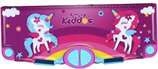 Smily Kiddos Pop Out Pencil Box (Purple) | Multi Functional Pencil Box for Kids, Boys and Girls | Pencil Cases for Kids Boys and Girls | Best Return Gifts for School Kids Boys and Girls