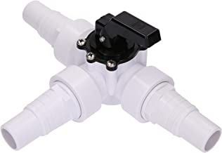 SL247 Válvula de 3 vías con boquillas de manguera para su piscina, calefacción solar y bombas de calor.