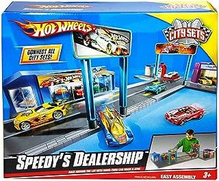 Mattel Hot Wheels Speedy Dealership Vehicle Playset