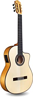 Cordoba GK Pro Cutaway Flamenco, All Solid Woods, Acoustic-Electric Nylon String Guitar, Luthier Series, with Humidified Hardshell Case