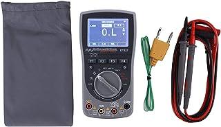Multímetro Amperímetro, alto desempenho estável, famílias de mão multifuncionais para transistores de continuidade