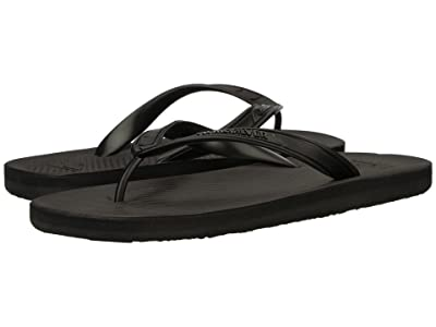 Quiksilver Haleiwa II (Solid Black) Men