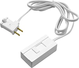 TOPGREENER Table-Top Plug in Dimmer for Table or Floor Lamps, Slide Control, works with Incandescent and Dimmable LED 360 ...