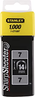 Stanley 1-CT109T 14mm Type-7 Cable Staples (1000 Pieces)