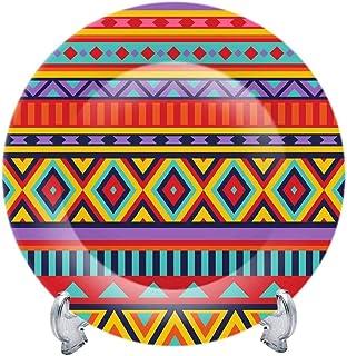 "Goodmade Studio Diwali Real Art Wall Hanging Plate 8"" | Decorative Plate with Stand | Fine Bon China | Decorative Plates f..."