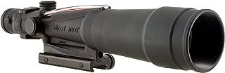 Trijicon ACOG 5.5 X 50 Scope Dual Illuminated Chevron .223 Ballistic Reticle, Red