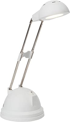 Brilliant AG G94816,Lámpara de mesa metal/plástico, 7.26W color Blanco
