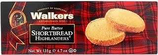 Walkers Homebake Highlander Shortbread, 4.7 Ounce - 12 per case.