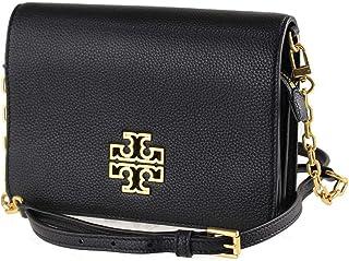 حقيبة كروس للنساء 60405 بريتن كومبو من توري بورش، أسود/ذهبي