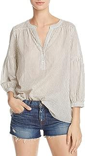 Joie Women's Aldys Loose-Fit Stripe Top