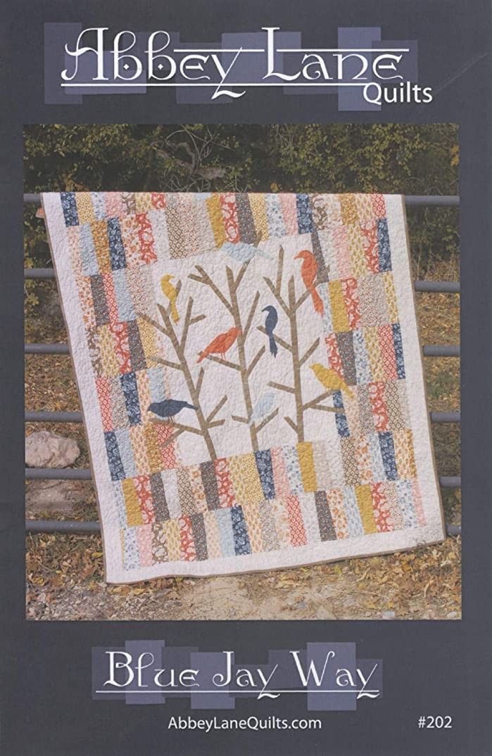 Blue Jay Way Quilt Pattern by Abbey Lane Quilts #202 60