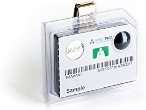 Med-Pro, Inc - Personal Harshaw Radiation Detection Badges, Dosimetry Monitoring Made Simple For Medical, Dental, Veterinary, Chiropractic, Mining, and More (XBG)