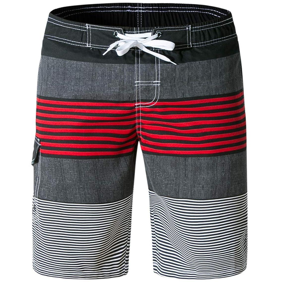 Evobak Mens Swim Trunks Swimsuit Men Beach Board Shorts Men's Bathing Suits Quick Dry