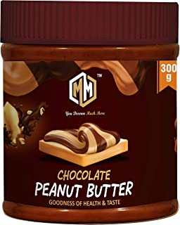 MUCHMORE NUTRITION All Natural Peanut Butter 300g (Chocolaty| Pre Workout Supplements | Weight Loss/Gainer Product (300 g)...