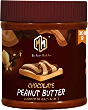 Muchmore Nutrition|Chocolate Peanut Butter|Creamy|Natural|Unsweetened|Organic|Gainer|Vegan|Gluten Free|Non-GMO|300gm