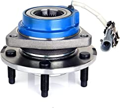 ECCPP Wheel Hub and Bearing Assembly Front Rear 513121 fit 2000-2004 Buick Century Lesabre Park Chevrolet Pontiac Replacement for 5 lugs Wheel hub with ABS 3 Bolt Flange